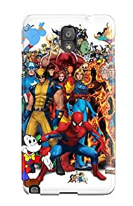 Galaxy Case - Tpu Case Protective For Galaxy Note 3- Marvel