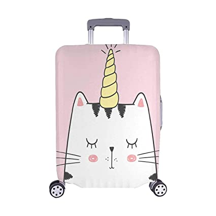ecabaada79b7 Amazon.com | InterestPrint Cute Cat with Unicorn Horn Caticorn ...