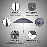 "Golf Umbrella by Sis -Tek, 62"" Extra Large Double Vented Canopy 
