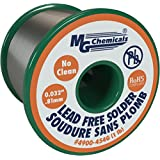 MG Chemicals SAC35, 96.3% Tin, .7% Copper, 3% Silver, No Clean Lead Free Solder, .32″ Diameter, .6 oz Pocket Pack