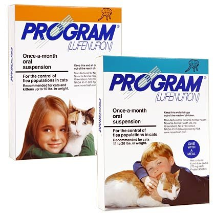 Program Oral Suspension 12pk Orange Cat 1-10 lbs by NOVARTIS