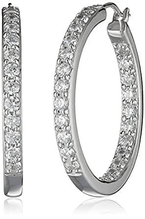 Amazon.com: Platinum or Gold Plated Sterling Silver and ...