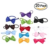 party ties - Tinksky 20pcs Men Adjustable Bow Tie Wedding Party Essentials Gifts for Men