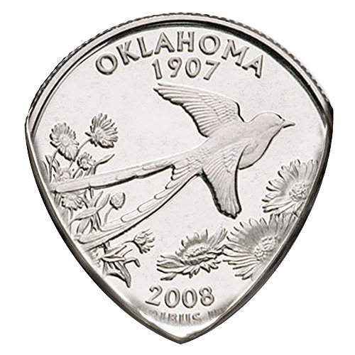 State Coin Guitar Pick (Oklahoma)