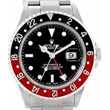 Rolex GMT Master II automatic-self-wind womens Watch 16710 (Certified Pre-owned)