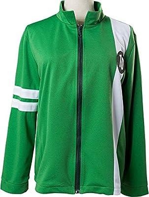 Mesodyn Ben 10 Tennyson Alien Swarm Ryan Kelly Green Synthetic Jacket T-Shirt