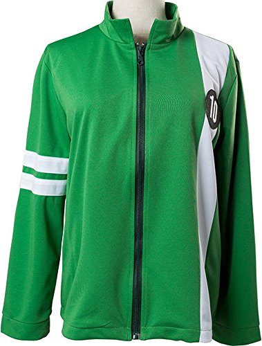 Mesodyn Ben 10 Tennyson Alien Swarm Ryan Kelly Green Synthetic Jacket Kids 14-16