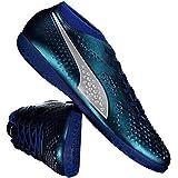 Chuteira Puma One 4 SYN IT Futsal Azul 0fb6e089faa2c