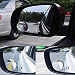 YOTINO 360 ° Rotatable Blind Spot Mirror for Car