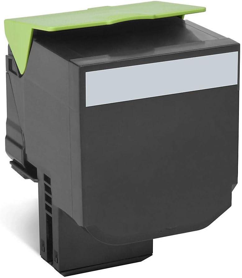 Lexmark 80C1HC0 Cyan High Yield Return Program Toner Cartridge for CX410//510