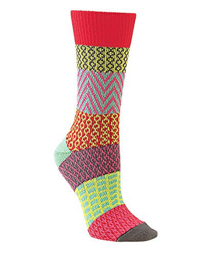 World's Softest Women's Knit Gallery Crew Socks One Size Fits Most (Charleston)