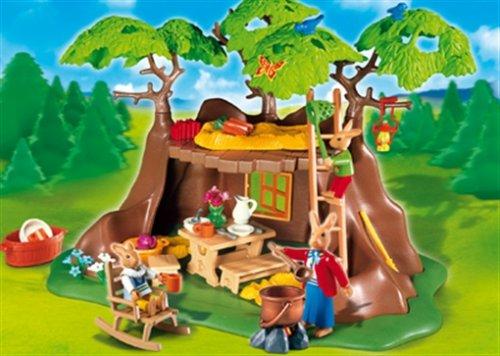 (Playmobil Bunnies Treehouse)