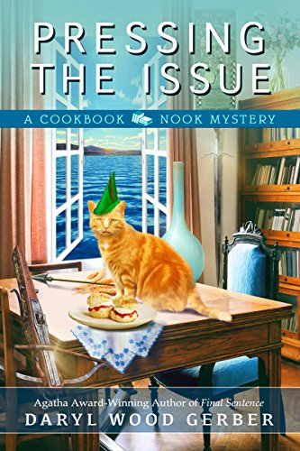 Pressing the Issue (A Cookbook Nook Mystery 6) -
