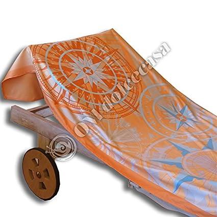 Toalla Playa Piscina Tumbona de microfibra modelo Vogue cm 90 x 160