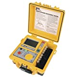 Ideal Industries 61-796 Earth Ground Resistance Tester, 3-Pole, Includes TL-796 Lead Set Kit