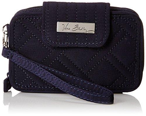 Vera Bradley Smartphone Wristlet 2.0 Wallet, Classic Navy