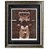 NBA Miami Heat Dwyane Wade Framed 16x20 Mosaic Photo