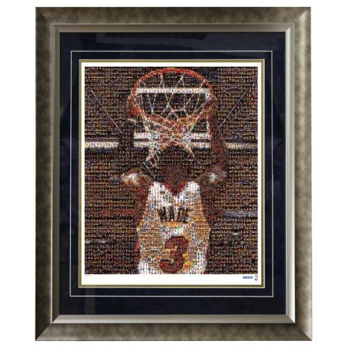 NBA Miami Heat Dwyane Wade Framed 16x20 Mosaic Photo by Steiner Sports