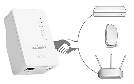 Amazon Com Edimax 750mbps Wallplug Repeater Wireless Uk Version Ew