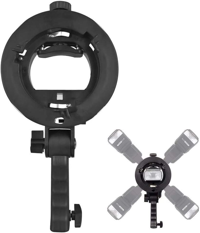 ZHANGQUAN Quan Ring Light Kit Photographic Equipment Fash Bracket Accessories O-Shaped Bracket for Camcorder Video Light
