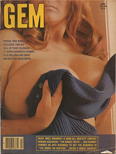 Gem (adult nude magazine), vol. 24, no. 3 (February 1983) ()