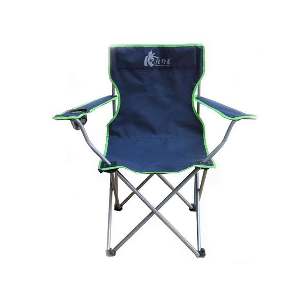 Xy Hocker Klapp Camping Stuhl Outdoor Sessel Klappstuhl Portable Angeln Stuhl Strandkorb (Farbe   B)