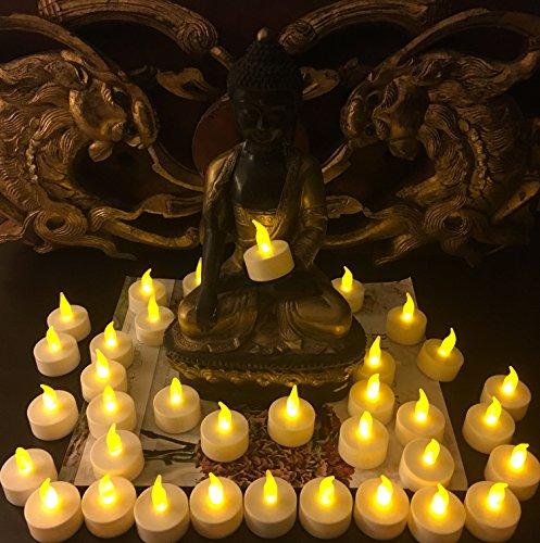 flameless led tea light candles vivii battery powered import it all. Black Bedroom Furniture Sets. Home Design Ideas