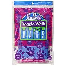 Doggie Walk Bags DWB-003 Classic Baby Powder Bag, 35-Bags, Blue