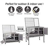 "Rabbit Hutch Indoor and Outdoor 39.7"" Bunny House"