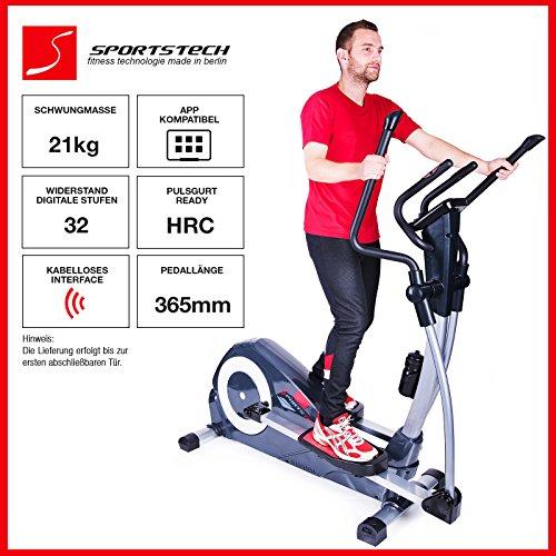 Sportstech CX620 Profi Crosstrainer mit Smartphone App - 2