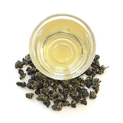Teamalchi Taiwan Natural Loose Leaf GABA Green Tea, decaffeinated, for stress relief, reduce anxiety, sleep aid, weight loss aid