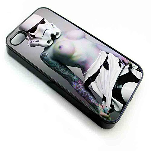 Stormtrooper Star Wars Sexy Girl, Iphone Case (iPhone 5/5s black) (Storm Trooper Sexy)