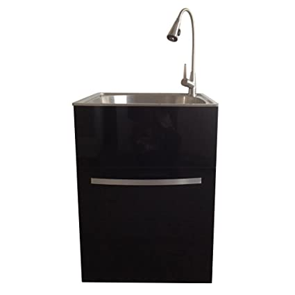 Amazon Com Presenza All In One Stainless Steel Utility Sink And