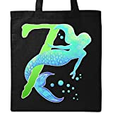 Inktastic - Seventh Birthday Mermaid Tote Bag Black 2f046