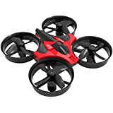 RC Drone, Anyren Mini 2.4G 4CH 6Axis Gyro Headless Altitude Hold LED Remote Control RC Quadcopter (Red)