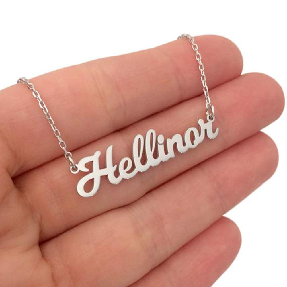 "Personalized Name Necklace Pendant with Any Customized Name 14/""to 22"