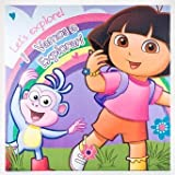 Dora Canvas Wall Art - Let's explore!