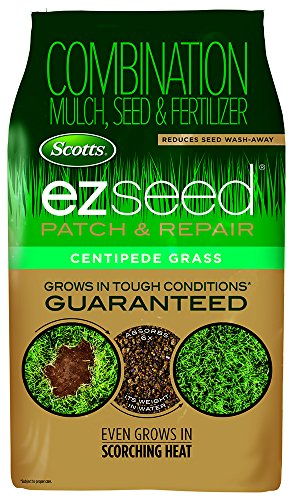 Scotts EZ Seed Patch & Repair Centipede Grass - 20 Lb. | Combination Mulch, Seed & Fertilizer | Reduces Seed Wash-Away | 17544