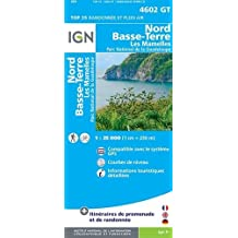 IGN TOP 25 NO.4602 OT : NORD, BASSE-TERRE