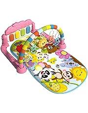 Baby lekfilt med musik och ljus baby aktivitet lekmatta baby med lekbåge krypande filt upplevelse filt baby leksak lekbåge med krypande filt baby lekmatta kick och spela för lekfilt