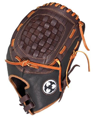 Worth Right Hand Throw Glove ( Brown, 12 1/2- Inch)