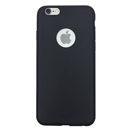 best sneakers 012d8 d1e55 Enthopia Ultra Thin 0.3mm Black Soft Silicone Slim Back Case Cover for  Apple iPhone 6, Apple iPhone 6s