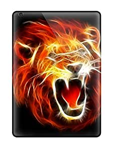 Slx6573CnGw Tpu Phone Cases With Fashionable Look For Ipad Air - Roaring Lion