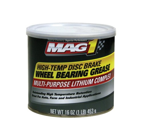 Mag 1 720-12PK Red High-Temp Disc Brake Wheel Bearing Grease - 1 lb., (Pack of 12) by Mag 1