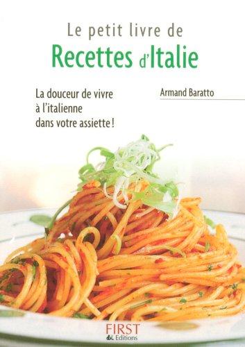 Amazon Com Petit Livre De Recettes D Italie Le Petit