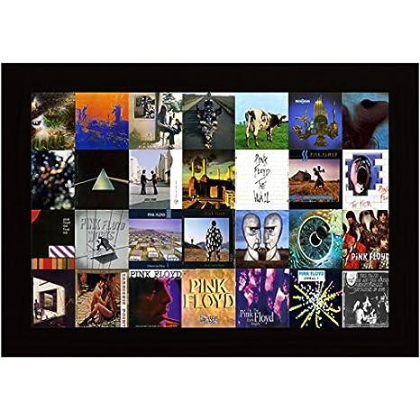 Posterskart Pink Floyd Album Covers Framed Poster for Room