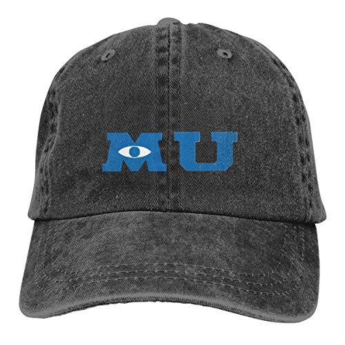 Monsters University Merchandise Baseball Cap Vintage Dad Hat Adjustable Polo Trucker Unisex Style Headwear Black]()