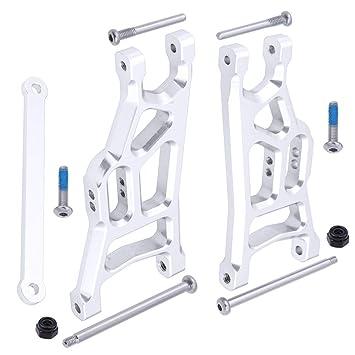 Amazon com: Hobbypark Aluminum Front Suspension Arms w/Tie