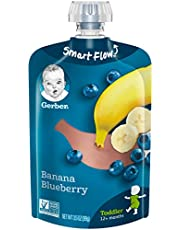Gerber Purees Banana Blueberry Toddler Pouch (Pack of 12)