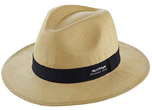 Panama Jack The Original Matte Toyo Safari Hat, Natural, L/XL (Panama Jack Polarisierten Sonnenbrillen)